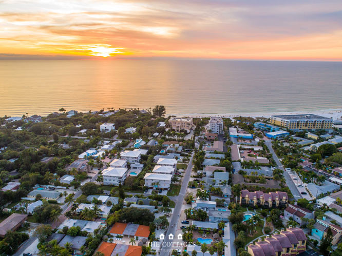 Twilight The Cottages at Siesta Key Watermark